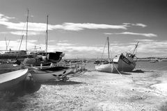 Boatyard Royalty Free Stock Photo