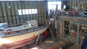 Boatyard Stock Image