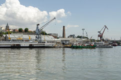 Boatyard, Horn dorato, Costantinopoli Immagine Stock Libera da Diritti