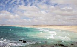 Boavista coast Stock Photo