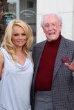 Bob Barker, Pamela Anderson Royalty Free Stock Photos