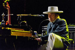 Bob Dylan fotografía de archivo libre de regalías