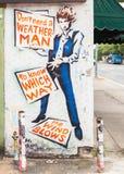 Bob Dylan Mural Photos stock