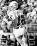Bob Griese. Miami Dolphins Bob Griese, #12. (Image taken from B&W negative Royalty Free Stock Photography