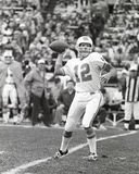 Bob Griese. Miami Dolphins QB Bob Griese, #12.  (Image taken from B&W negative Stock Photography