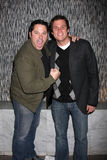 Bob Guiney,Greg Grunberg Royalty Free Stock Image