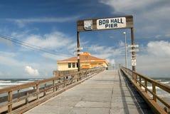 Bob Hall Pier, Southern Texas stock photo