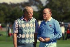 Bob Hope и президент Джеральд Форд Стоковое Фото