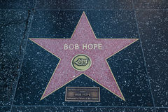 Bob Hope Hollywood Star Foto de archivo libre de regalías