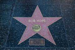 Bob Hope Hollywood Star Foto de archivo libre de regalías
