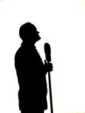 Bob Hope Silhouette Royalty Free Stock Photography