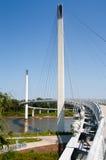 Bob Kerrey Pedestrian Bridge Arkivfoto