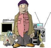 Bob lo scassinatore royalty illustrazione gratis