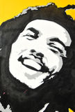 Bob Marley. Graffiti portrait in UK Royalty Free Stock Photography