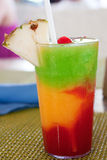 Bob Marley Drink in Jamaica. The Bob Marley-- A drink served at a resort in Jamaica Stock Photos