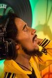 Bob Marley in het museum van Mevrouw Tussauds royalty-vrije stock fotografie