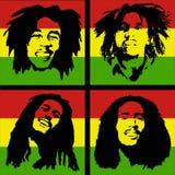 Bob Marley Portrait Stock Photo