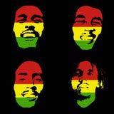 Bob Marley portrait Royalty Free Stock Photography