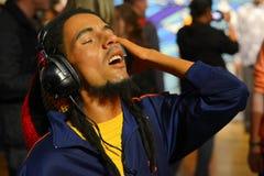 Bob Marley-raggaezanger royalty-vrije stock foto's