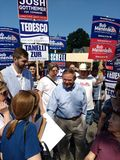 Robert Menendez, United States Senator from New Jersey, Bob Menendez, American Politician Campaigning. Bob Menendez at the 43rd Annual Rutherford Labor Day stock images