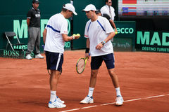 Bob and Mike Bryan Royalty Free Stock Photos