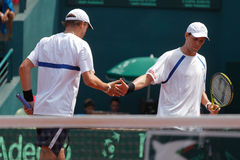 Bob and Mike Bryan Stock Image