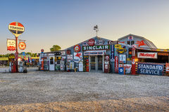 Bob's Gasoline Alley  on historic route 66 in Missouri. CUBA, MISSOURI, USA - MAY 11, 2016 : Bob's Gasoline Alley on historic Route 66 in Cuba. It is is an Royalty Free Stock Image