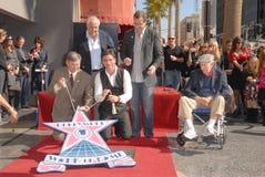 Bob Saget, Garry Marshall, Jack Klugman, John Stamos, Leron Gubler Image stock