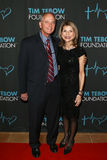 Bob Tebow, Pam Tebow. PONTE VEDRA BEACH, FL-MAR 3: Bob Tebow and Pam Tebow attend the 2017 Tim Tebow Foundation Celebrity Gala at TPC Sawgrass Stock Images