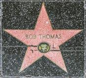 Bob Thomas star on Hollywood Walk Royalty Free Stock Photography