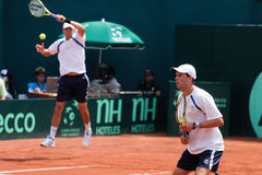 Bob und Mike Bryan Stockfotos