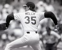 Bob Welch Oakland Athletics royaltyfria bilder