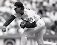 Bob Welch Oakland Athletics royaltyfria foton