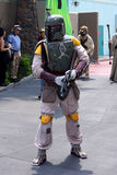 Boba Fett at Star Wars Weekends at Disney World royalty free stock photos