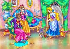bobaterki czarodziejska bajka Fotografia Royalty Free