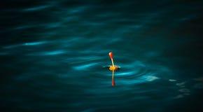 Bobber de pêche Photographie stock libre de droits