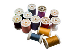 Bobbin color Royalty Free Stock Photography