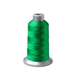 Bobbin of green thread Stock Photos