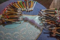 Bobbin Knitting Immagine Stock Libera da Diritti