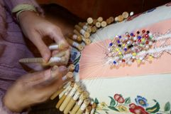 Bobbin lace Royalty Free Stock Images