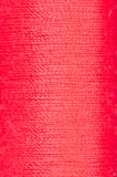 Bobbin of red  thread Stock Images