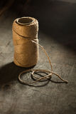 Bobbin of rope Stock Photography