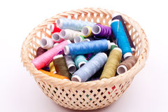 Bobbin threads Stock Photo