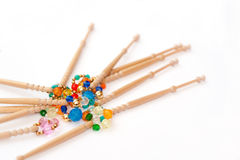 Bobbins And Beads Royalty Free Stock Images