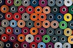 Bobbins background Royalty Free Stock Photos