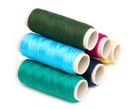 Free Bobbins Of Thread Isolated On White Stock Images - 32794714