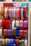 Bobbins and reels of ribbon Stock Photography