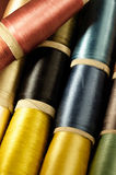 Bobbins silk thread Royalty Free Stock Images