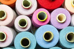 Bobbins of thread Royalty Free Stock Image
