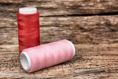 Bobbins thread Royalty Free Stock Photography